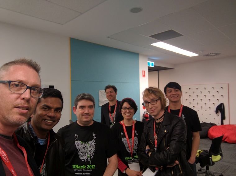 Team For-Loopers at UHack 2017